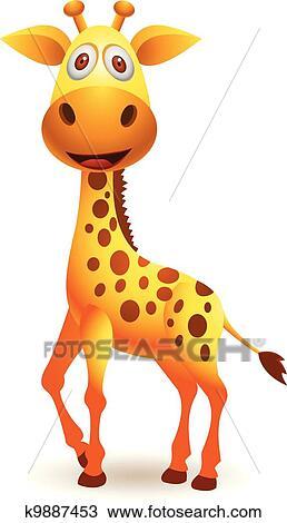 Clipart giraffa cartone animato k9887453 cerca - Cartone animato giraffe immagini ...