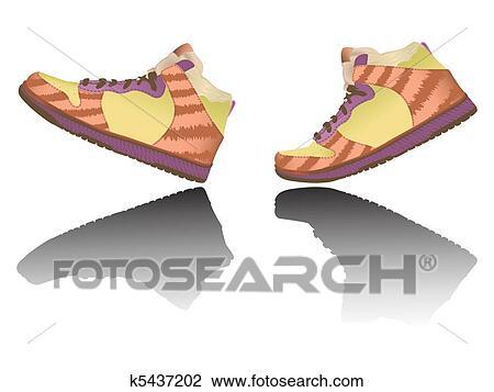 Chaussures Clipart Marche Arts Clip K5437202 Recherchez Des znUC5qw