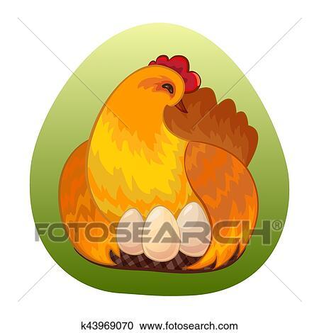 clipart melhor ovo galinha desenho k43969070 busca de