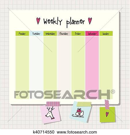 weekly planner note paper notes to do list organiser planner template note paper new year and christmas time