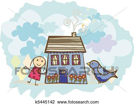Transparent Doll House Clipart - Doll House Png Clipart, Png Download -  kindpng