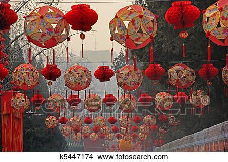 Decorazioni Con Lanterne Cinesi : Pz lanterne cinesi volanti pz lanterne multicolore misti