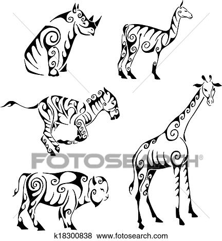 Black And White Animal Trible Free Download Oasis Dl Co