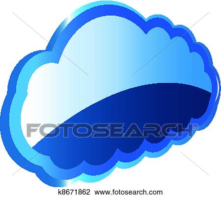 clipart of cloud computing k8671862 search clip art illustration rh fotosearch com Cloud Computing Timeline Cloud Computing Logo