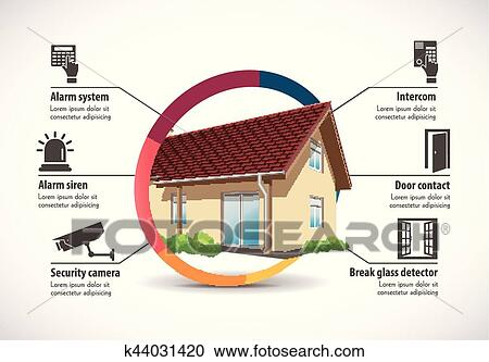 House Construction Clip Art : Clipart of house construction home building concept k