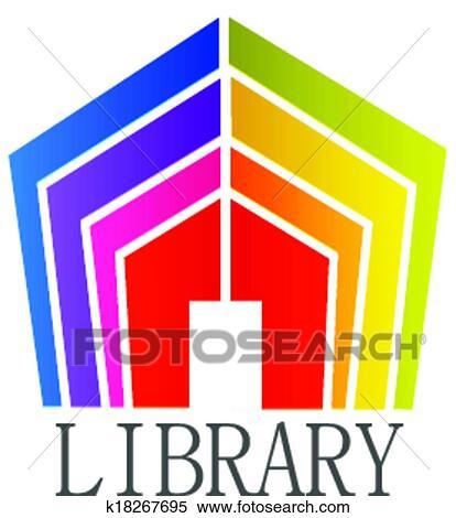 Bibliotheque Livres Logo Clipart