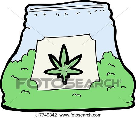 clipart of cartoon bag of weed k17749342 search clip art rh fotosearch com clipart searcher webplaces clipart search engine