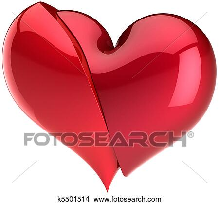 Drawings Of Broken Heart Abstract K5501514 Search Clip Art