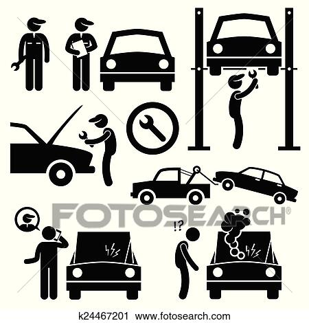 clipart of car repair workshop mechanic k24467201 search clip art rh fotosearch com Ice Cream Shoppe Clip Art Laptop Clip Art