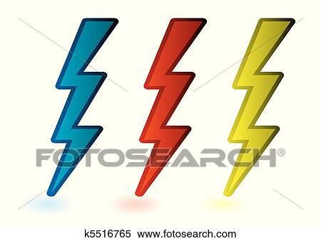 Free Lightning Bolt Clipart Pictures - Clipartix