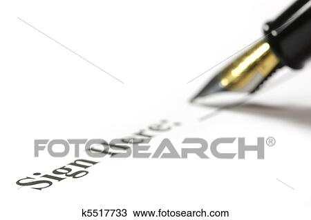 drawing of signing k5517733 search clipart illustration fine art