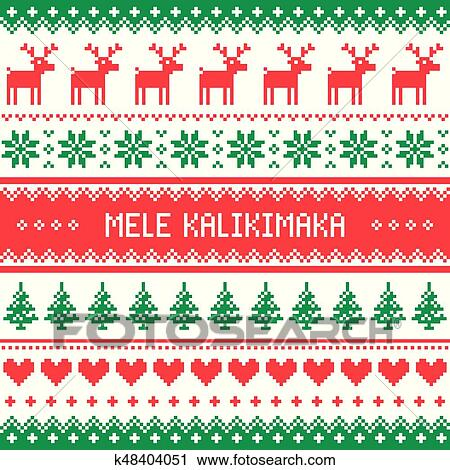 Mele Kalikimaka - Merry Christmas in