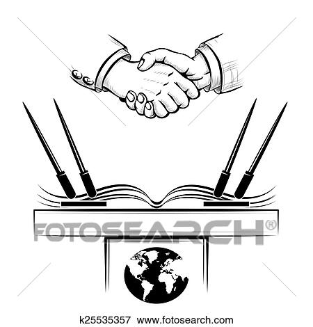 Clip Art Of The Diplomacy K25535357