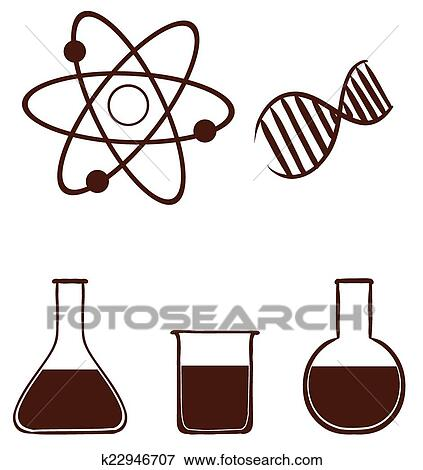 clip art of a simple science experiment k22946707 search clipart rh fotosearch com science experiment clipart science experiment clipart