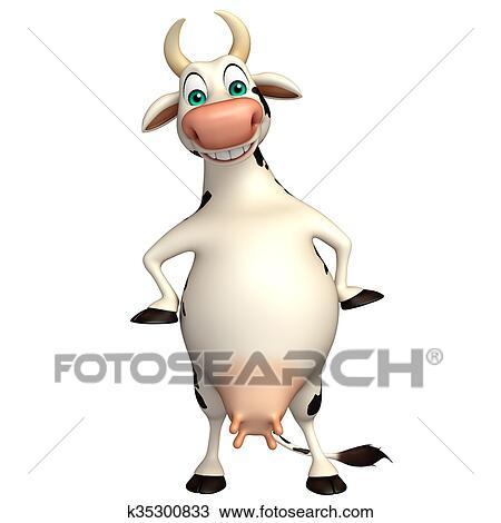 Dessin De Vache Rigolote Race Bovine