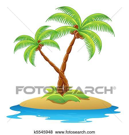 Palmier Clipart K5545948 Fotosearch