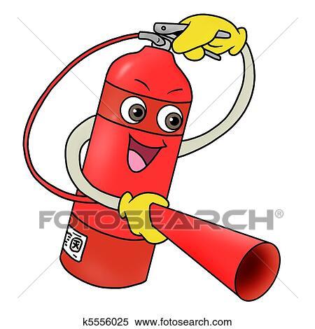 stock illustration of fire extinguisher icon k5556025 cash clipart background cash clip art printable