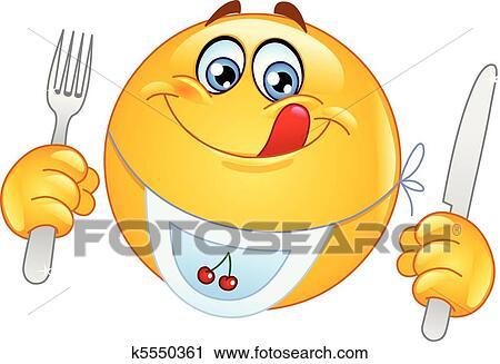 clipart affamato  emoticon k5550361 cerca clipart clip art smiley faces emoticons clip art smiley face winking