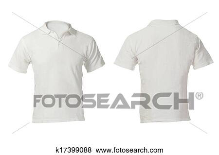 9464d1937 Pictures of Men's Blank White Polo Shirt Template k17399088 - Search ...