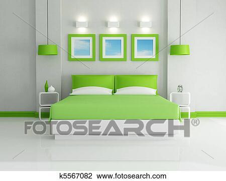 Clipart - vert, chambre à coucher k5567082 - Recherchez des Cliparts ...