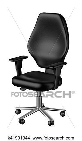 Banque Bureau Chaise Chaise Banque D'illustrations Bureau D'illustrations XikPOZu