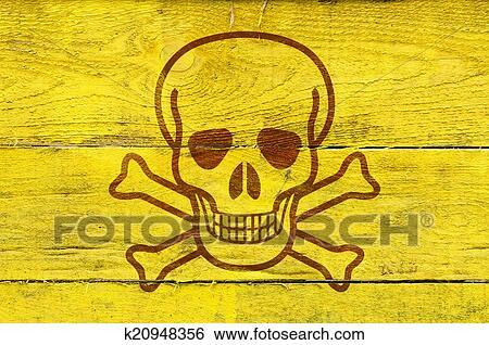 Stock Illustration Of Poison Symbol K20948356 Search Clip Art
