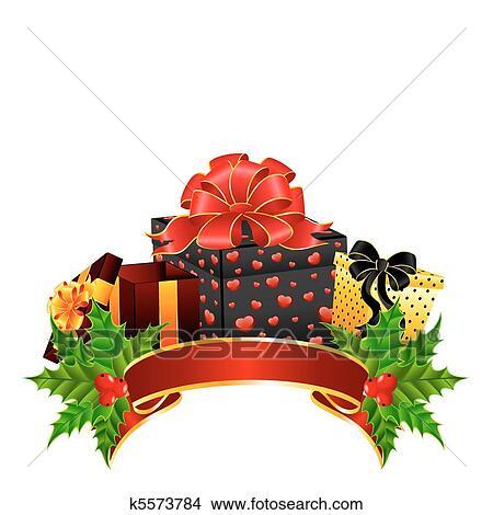 Weihnachtsgeschenke Clipart.Weihnachtsgeschenke Clipart