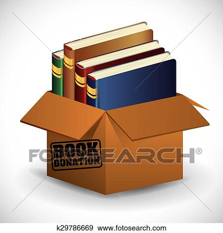 Clipart Livres Bibliotheque Design K29786669 Recherchez Des