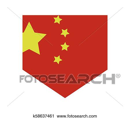 China Flag Clipart K58637461 Fotosearch