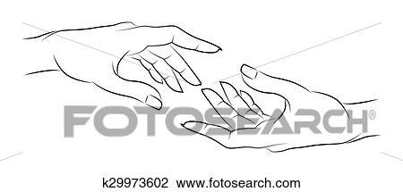 Freundschaft Hände Clipart K29973602 Fotosearch
