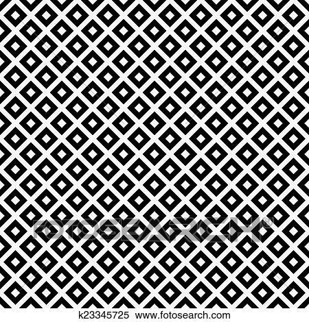 Stock bild schwarz wei diagonal vierecke fliesenmuster muster wiederholung hintergrund - Fliesenmuster schwarz weiay ...