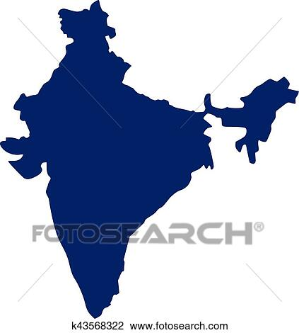 clipart of india map k43568322 search clip art illustration rh fotosearch com indian clipart images india clip art free