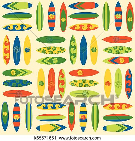 We Do Our Best To Bring You The Highest Quality Cliparts - Hawaiian  Surfboard Clip Art - Free Transparent PNG Clipart Images Download
