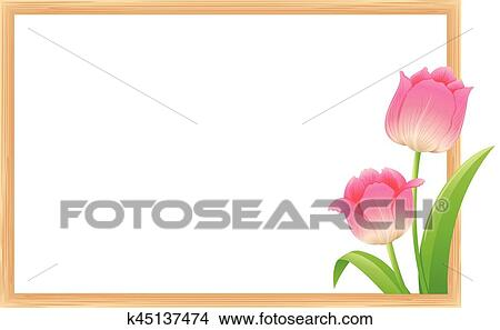 large tulip flower template flowers healthy