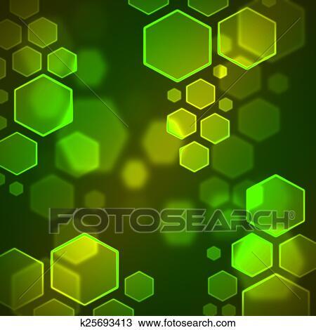 Dessin - hexagone, bokeh, papier peint k25693413 - Recherchez des ...