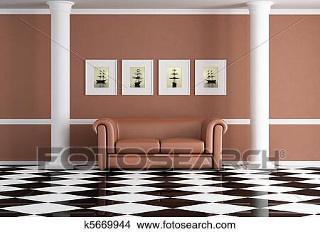 Disegni classico soggiorno k5669944 cerca illustrazioni clipart