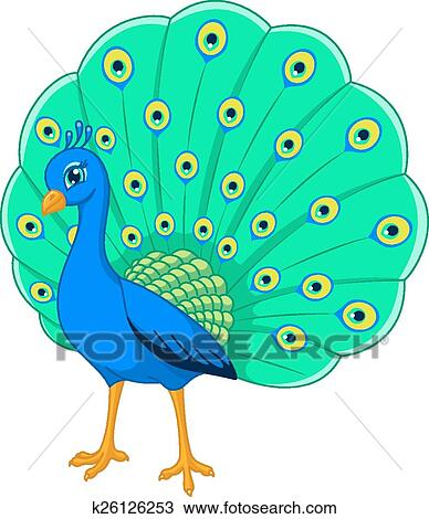 clipart of peacock k26126253 search clip art illustration murals rh fotosearch com peacock clipart images peacock clipart free