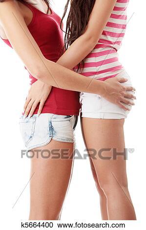 Lesbische verleiden rechte meisjes