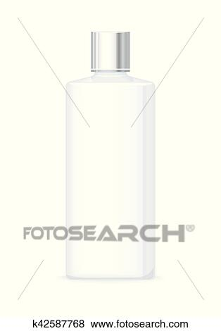 Clip Art Of Lotion Or Shower Gel Bottle Empty Cosmetic Product Magnificent Decorative Plastic Bottles For Shower