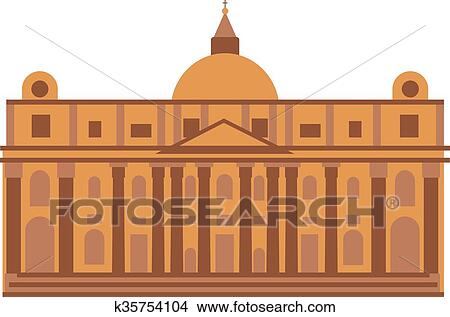 Royal palace at Madrid Spain architecture building ...