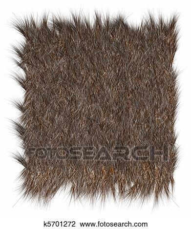 Clip Art of Wool Bear k5701272 - Search Clipart 41a7c24749d4