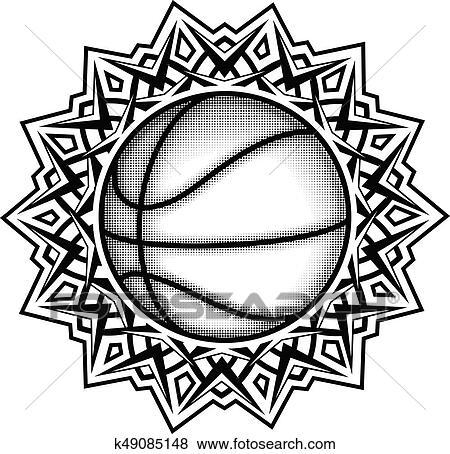 Clip Art Of Ballonpattern K49085148