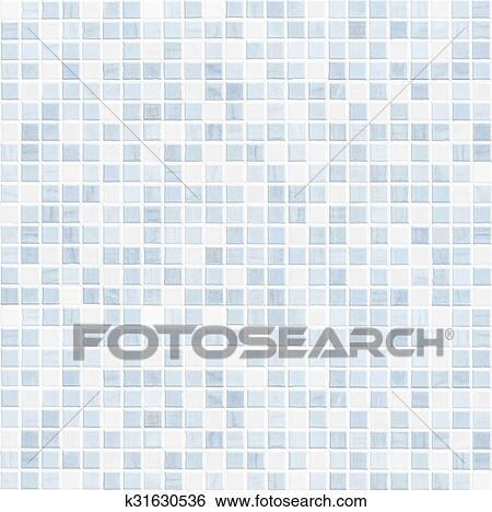 Ceramic Tile Wall Or Floor Bathroom Background Stock Photograph