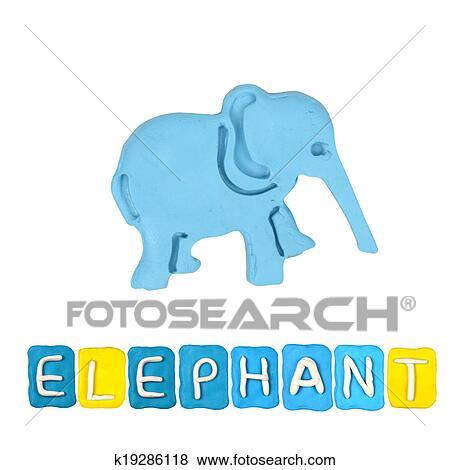 Farbe Elefant