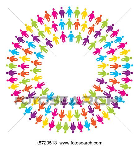 clipart of sign unity people k5720513 search clip art rh fotosearch com unity clipart png christian unity clipart