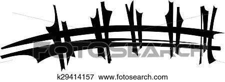 clip art of football laces eps k29414157 search clipart