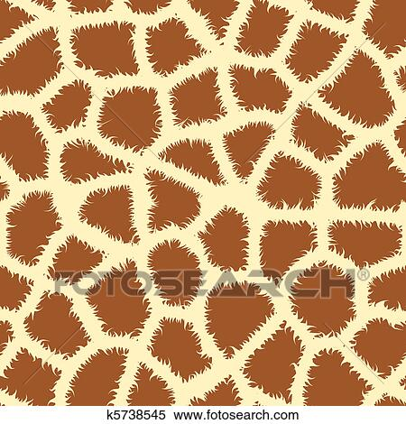 clipart of seamless animal print k5738545 search clip art rh fotosearch com animal footprint clipart animal paw print clipart