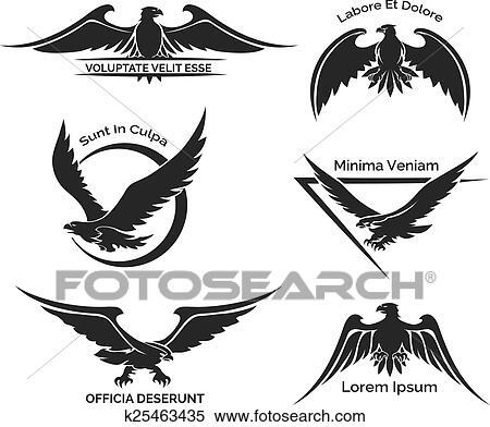 Klipart Batmak Yuzunden Kartal Logo K25463435 Clipart Duvar