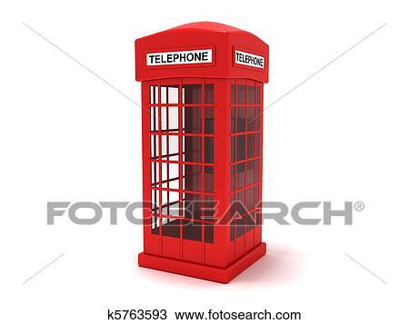 Cabina Telefonica : Disegno cabina telefonica k5763593 cerca clipart illustrazioni