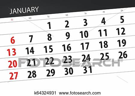Calendar January 2019 Year In Cartoon Child Style. Calendar Planner..  Royalty Free Cliparts, Vectors, And Stock Illustration. Image 113479100.